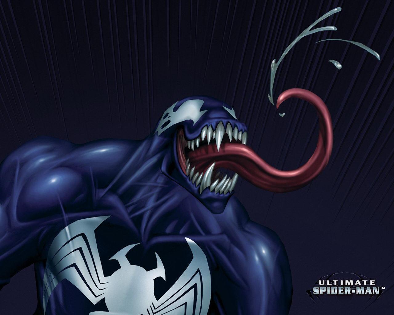 venom ultimate spider man wallpaper venom wallpaper venomjpg 1280x1024