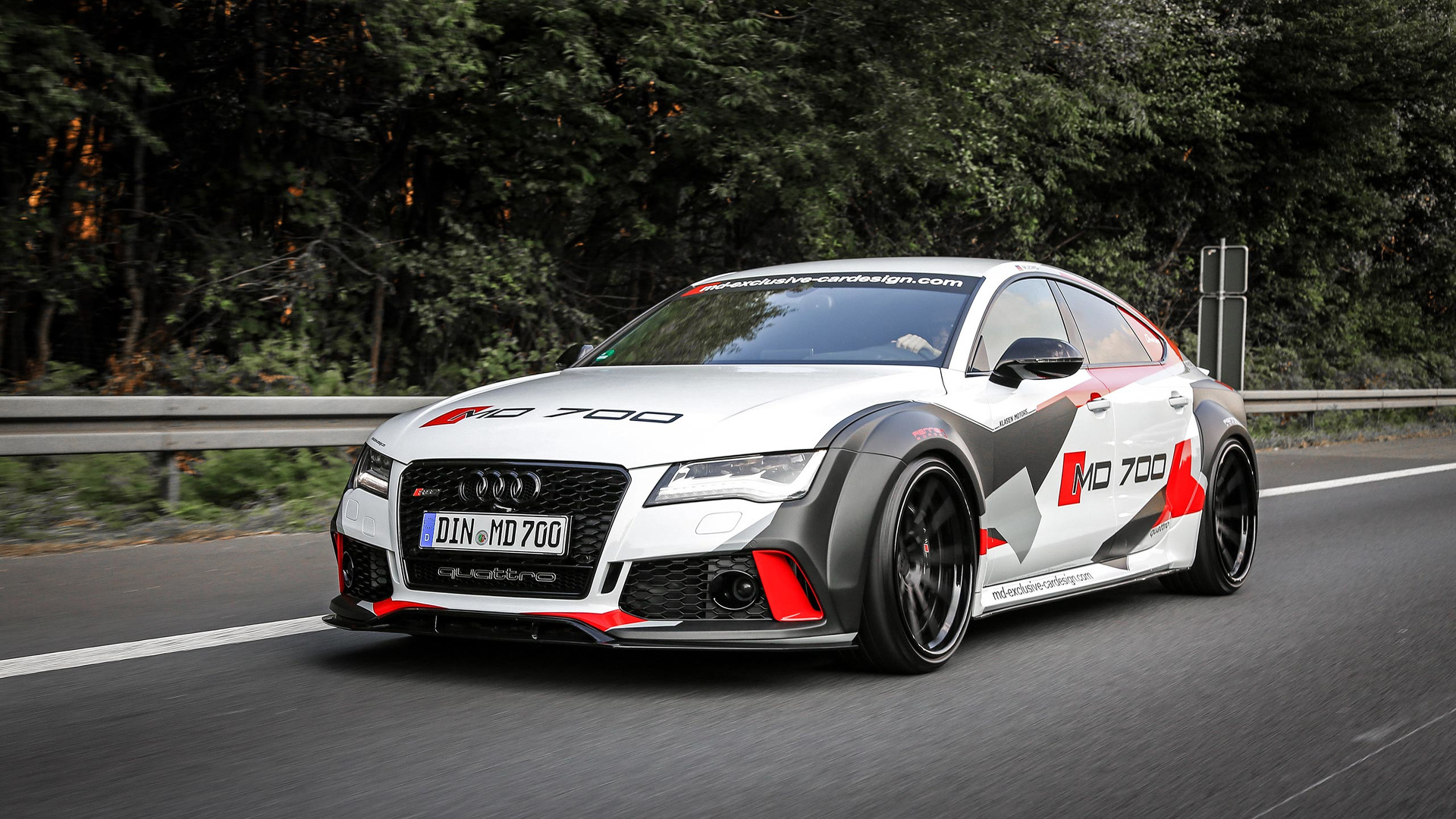 690 hp Audi S7 widebody puts the RS7 to shame 1920x1080