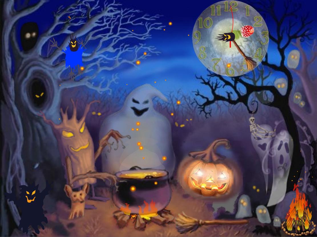 Animated Halloween HD Wallpaper HD Wallaper 1111x833