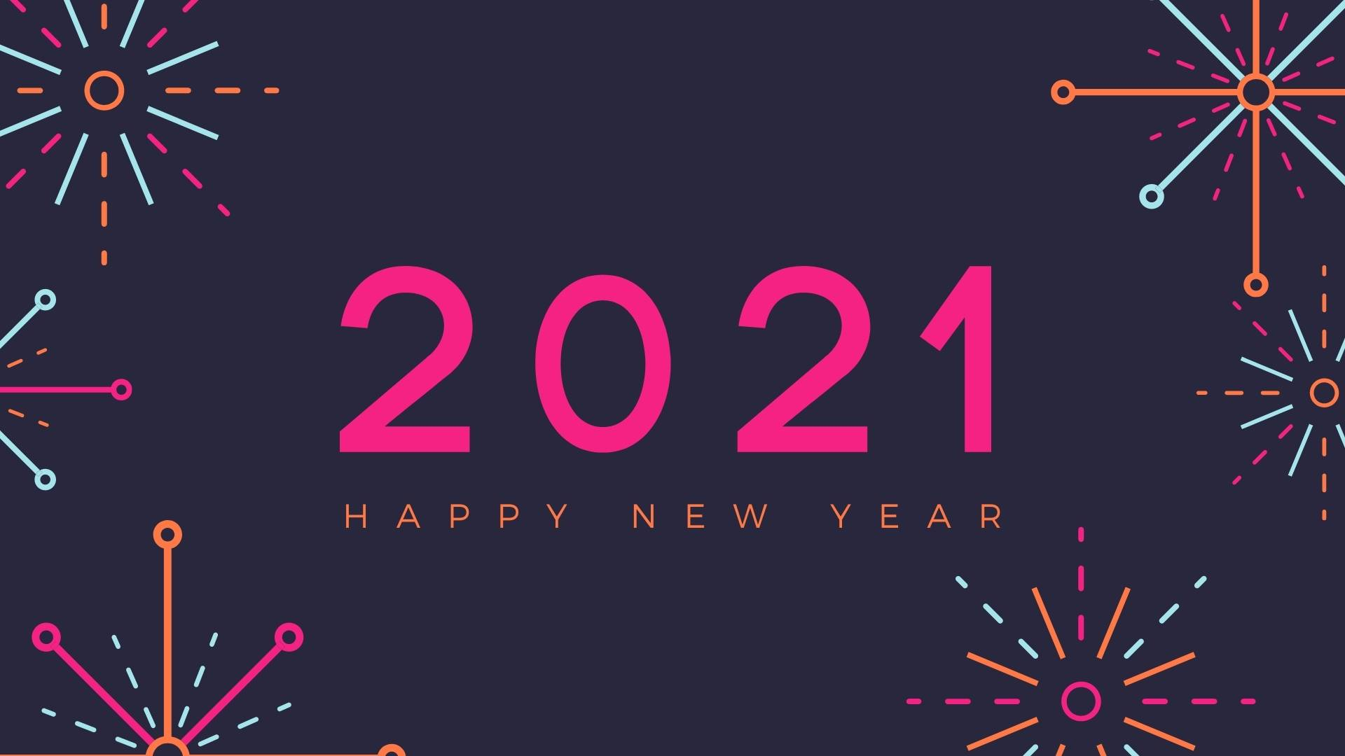 Happy New Year 2021 Wallpapers HD Images   Happy New Year 2021 1920x1080