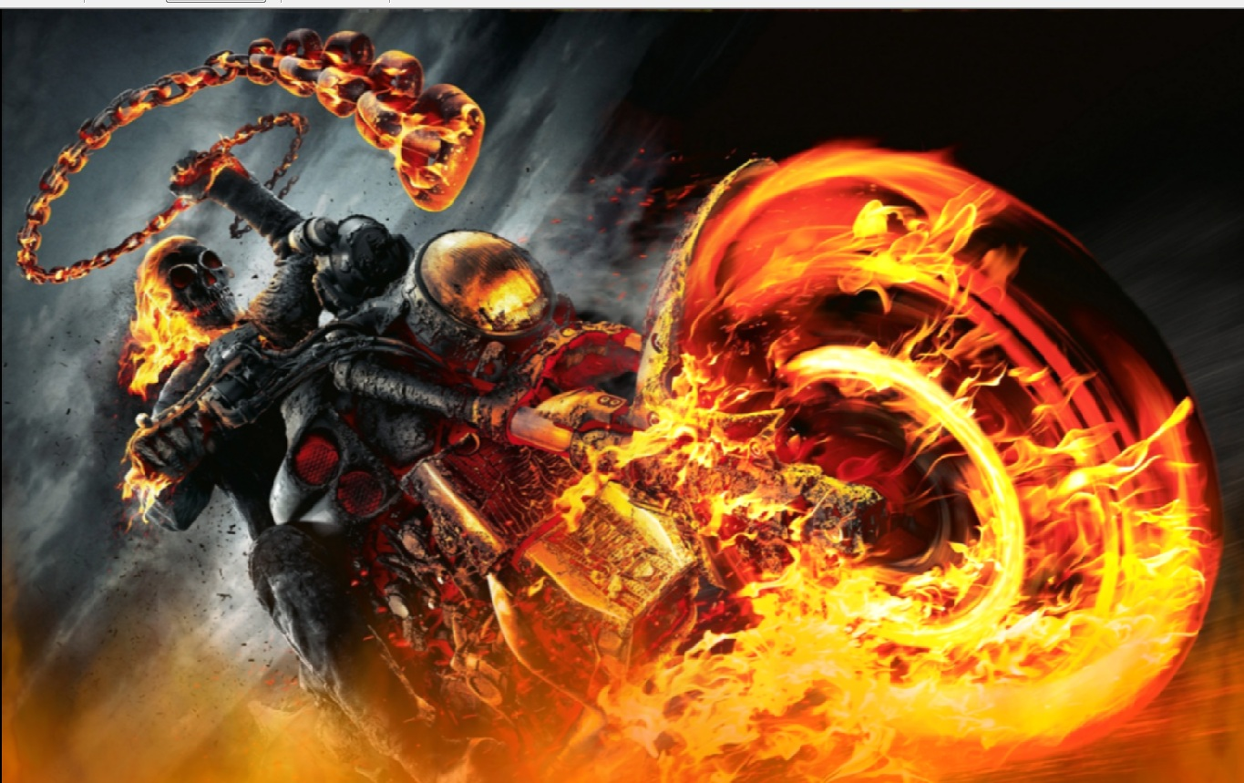 Ghost Rider Screensaver   Animated Wallpaper download torrent   TPB 1365x859