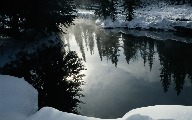 Mirror wallpaper desktop wallpapersafari - Landscape spiegel ...