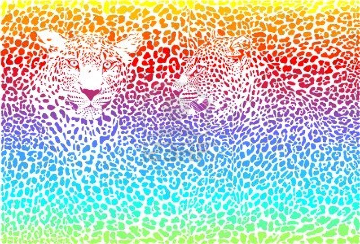 Colorful Cheetah Backgrounds wallpaper Colorful Cheetah Backgrounds 1203x816