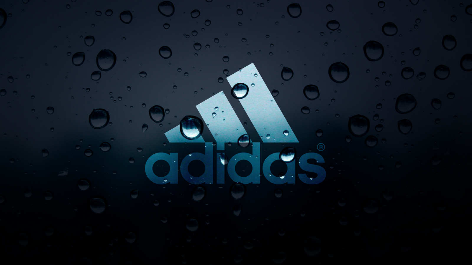 Adidas Water Drops Wallpaper 1600x900