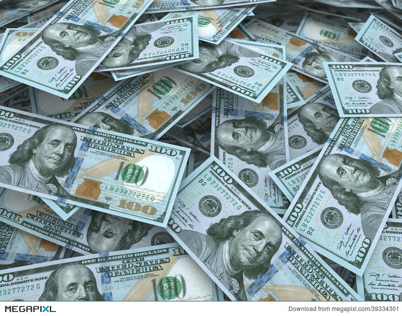 New Hundred Dollar Bill Stacks Illustration 39334301   Megapixl 800x630