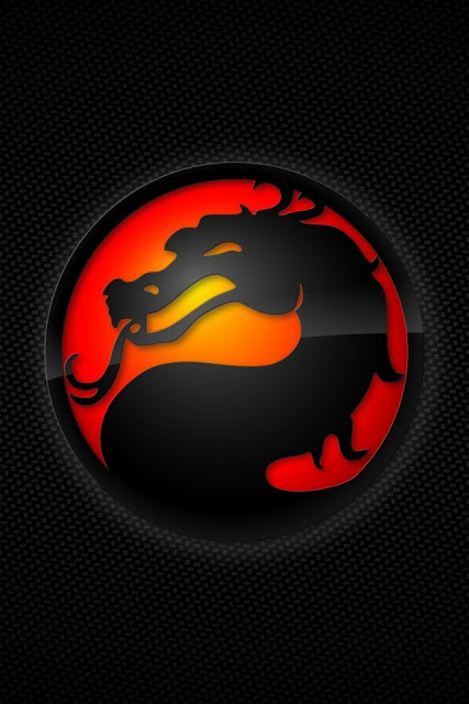 Mortal Kombat DRAGON 640x960 iphone4 wallpapers 427x640