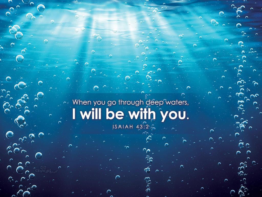 Isaiah 432 Desktop Wallpaper   Scripture Verses Backgrounds 1024x768