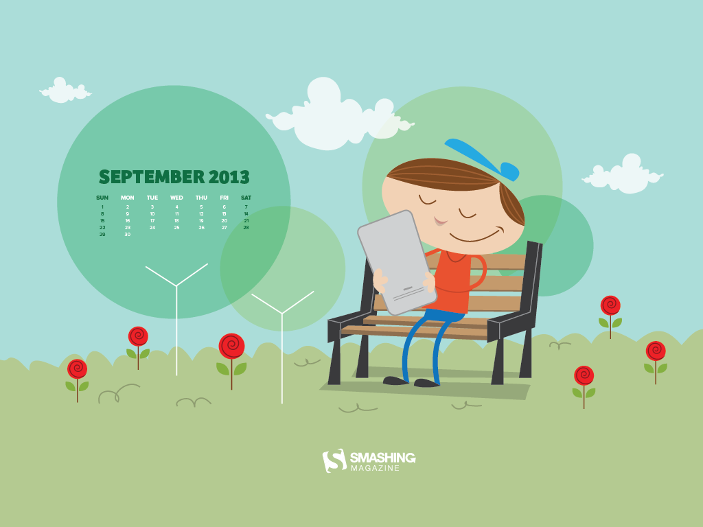 Desktop Wallpaper Calendars September 2013 Smashing Magazine 1024x768