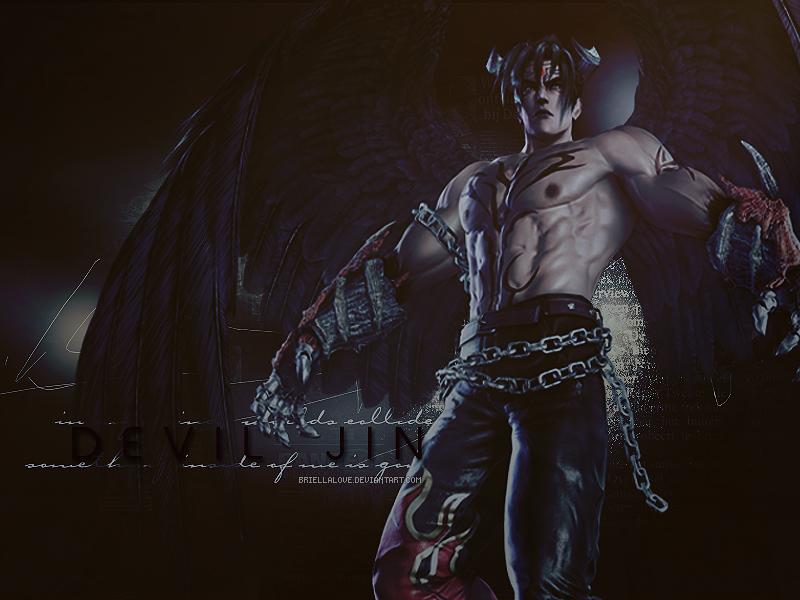 Devil Jin Wallpaper by BriellaLove 800x600