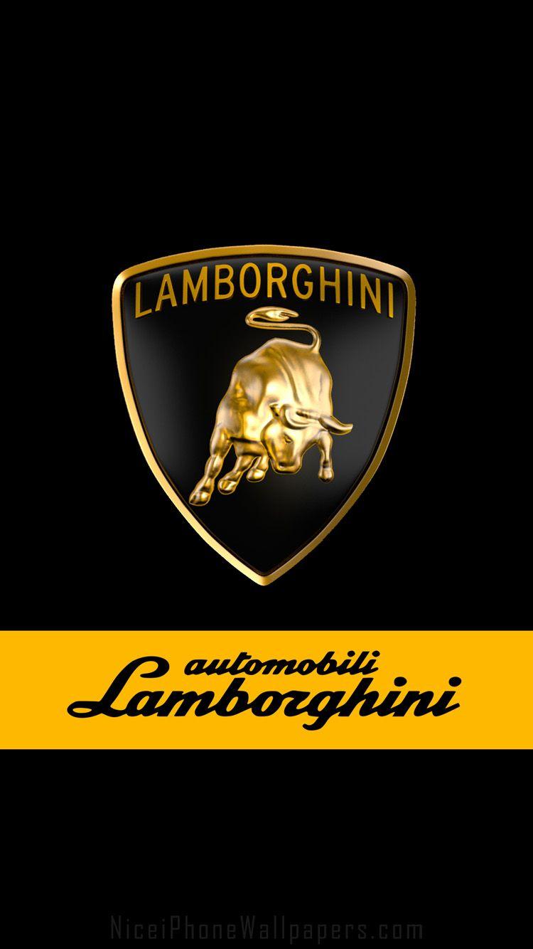 Lamborghini Logo Wallpapers   Top Lamborghini Logo 750x1334