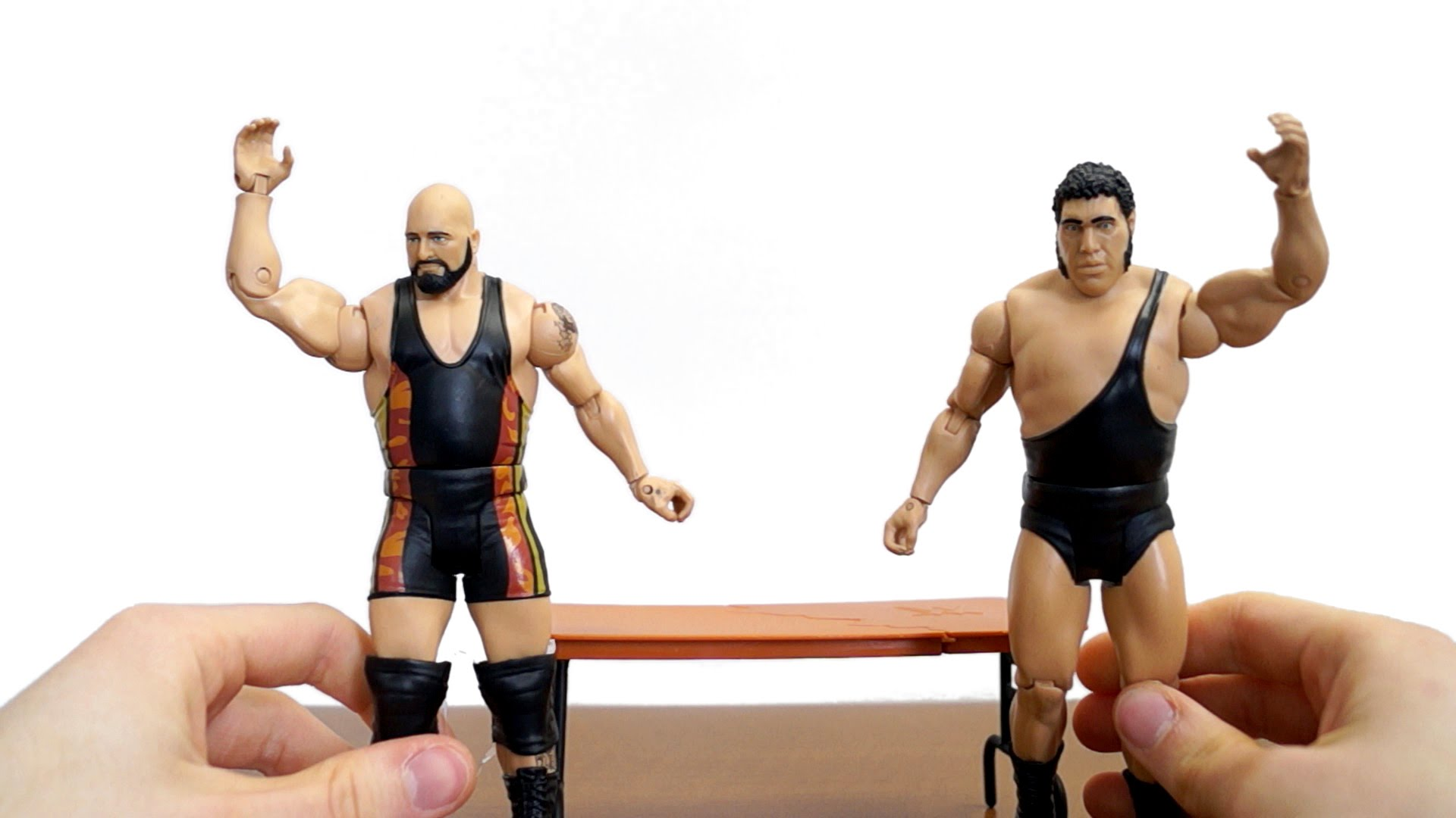 Andre The Giant Big Show WWE Mattel Battle Pack 33 1920x1080