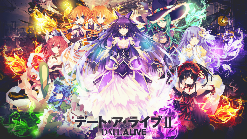 Date A Live II HD Wallpaper by tammypain 1024x576