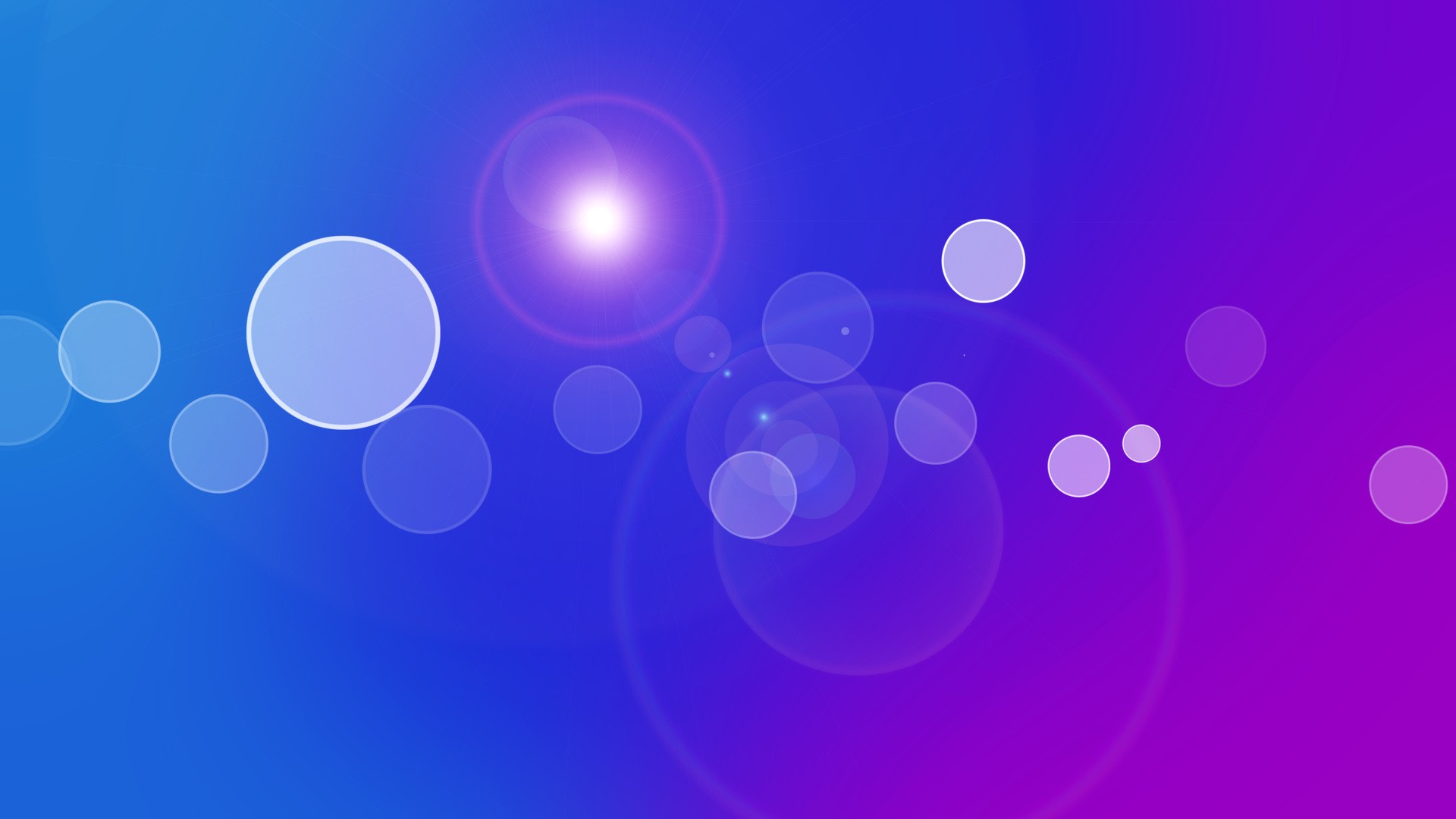 abstract blue purple circles gradient colors wallpaper background 1920x1080