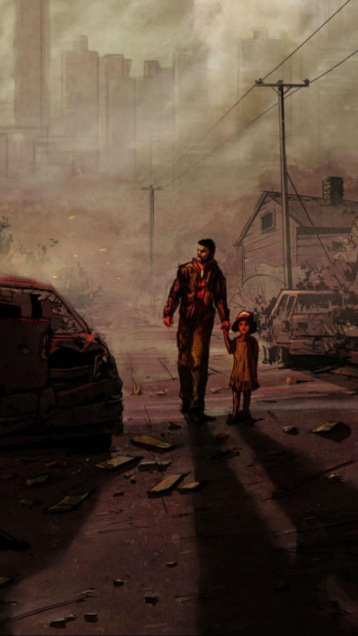 Video GameThe Walking Dead Season 1 720x1280 Wallpaper ID 720x1280