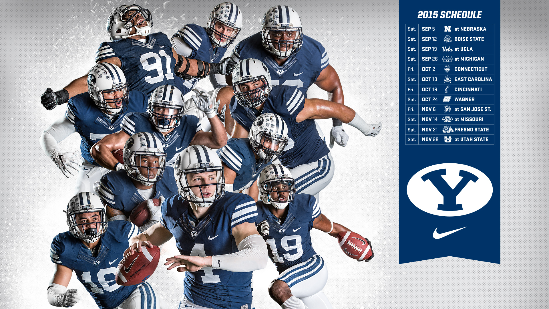 2015 Byu Football Schedule Background - WallpaperSafari
