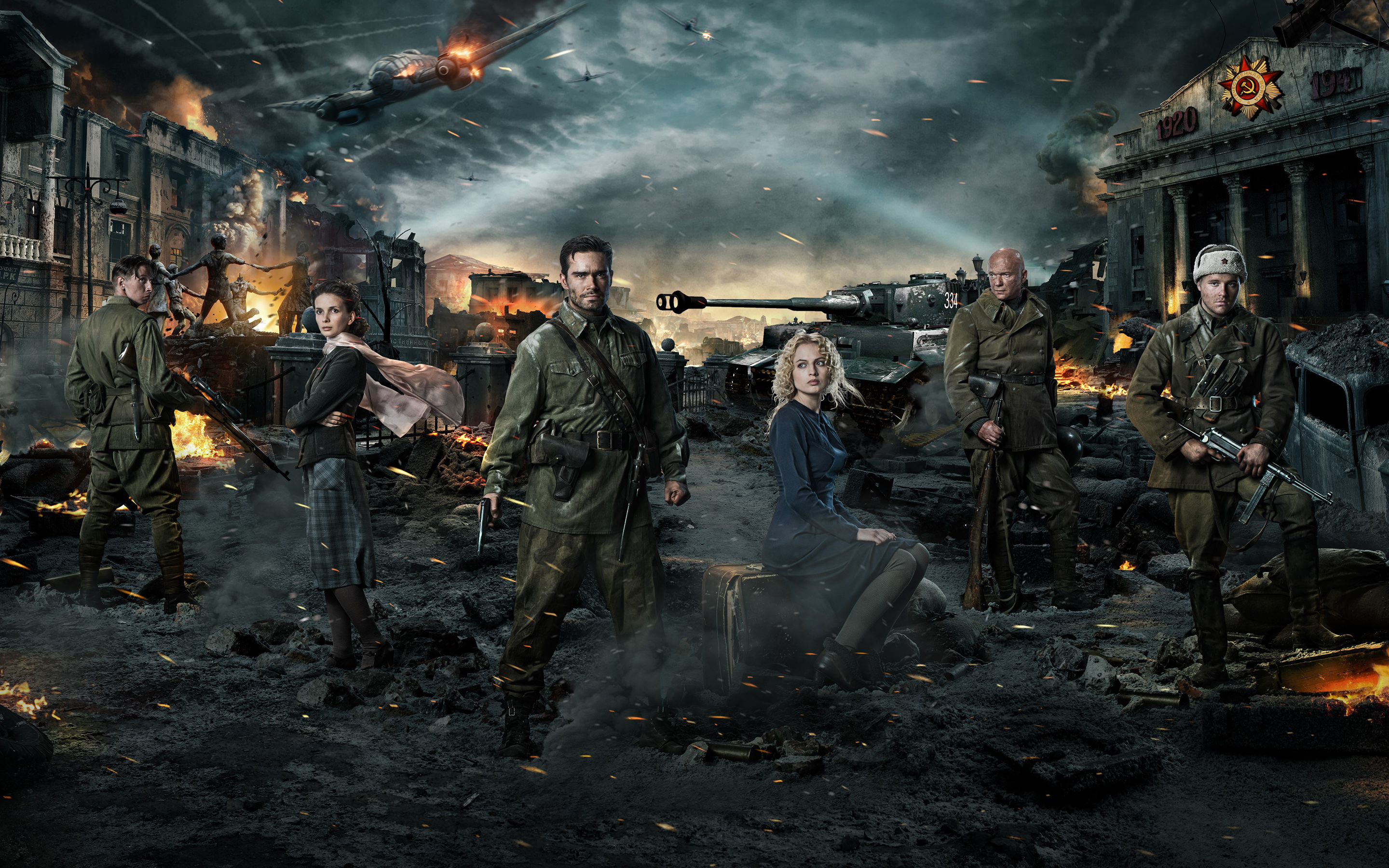 Stalingrad Movie Wallpapers HD Wallpapers 2880x1800