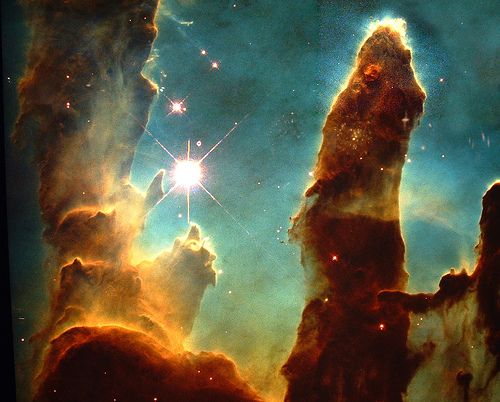 Hubble pillars of creation wallpaper wallpapersafari - Pillars of creation wallpaper ...