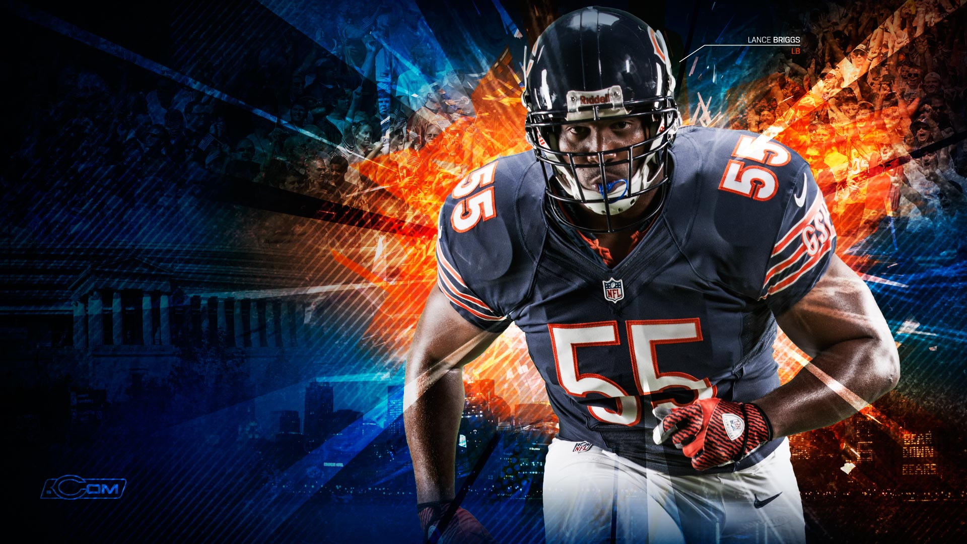 Chicago Bears 2012 wallpaper 1920x1080