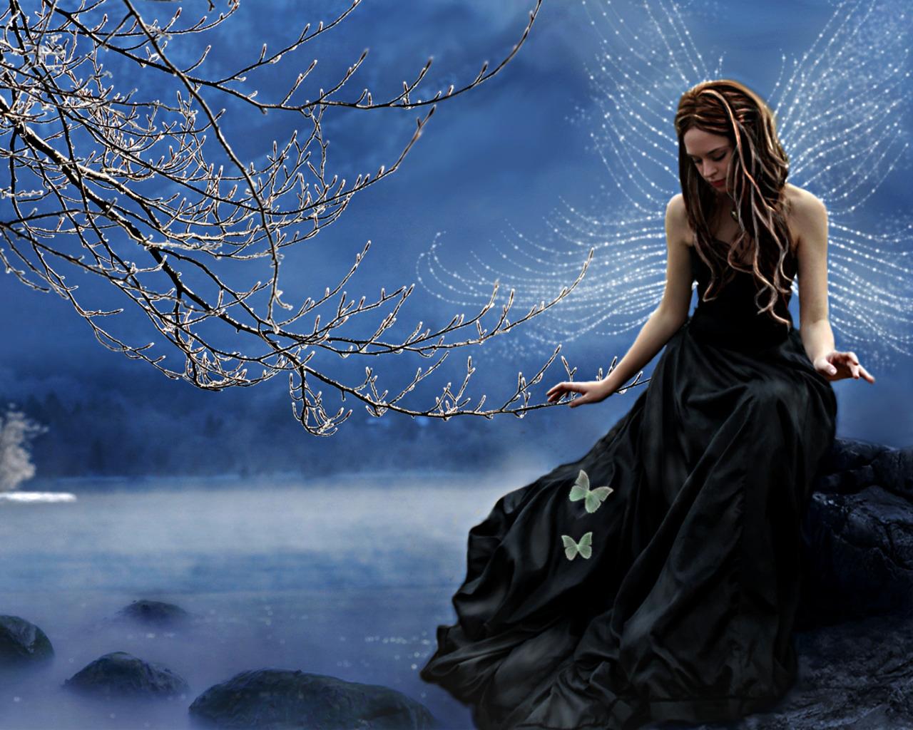 Water Fairy Wallpaper 1280x1024 Water Fairy 1280x1024