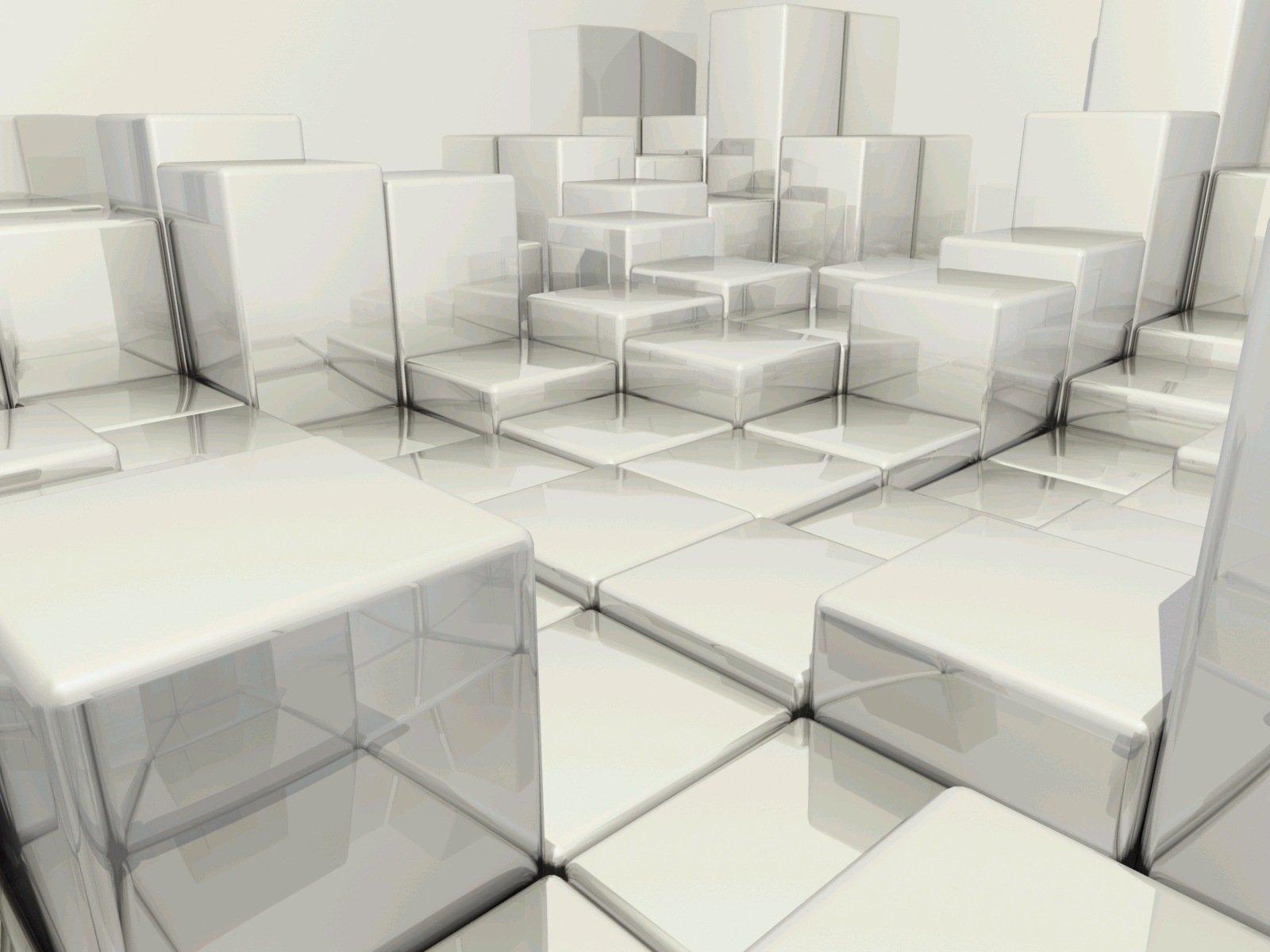 Cubes Levels 1600X1200 3D Wallpaper World Wallpaper Collection 1600x1200