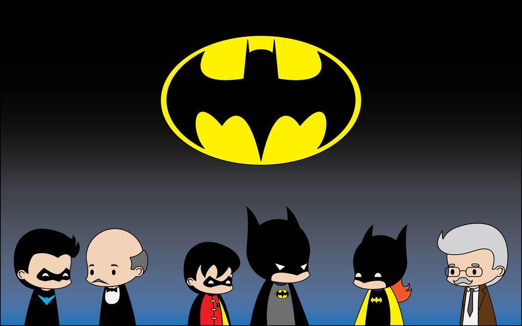 cute batman cartoon - 1024×641