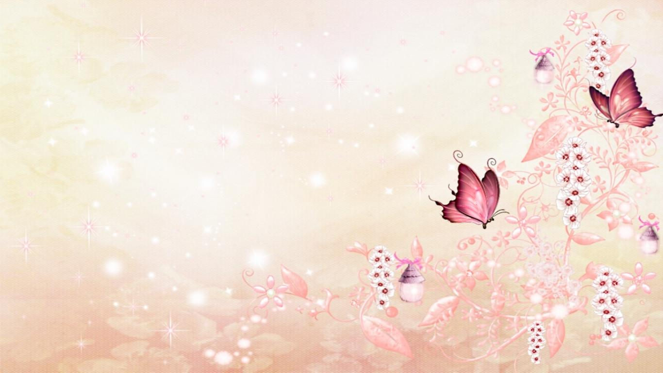 Pink Butterfly Wallpaper WallpaperSafari