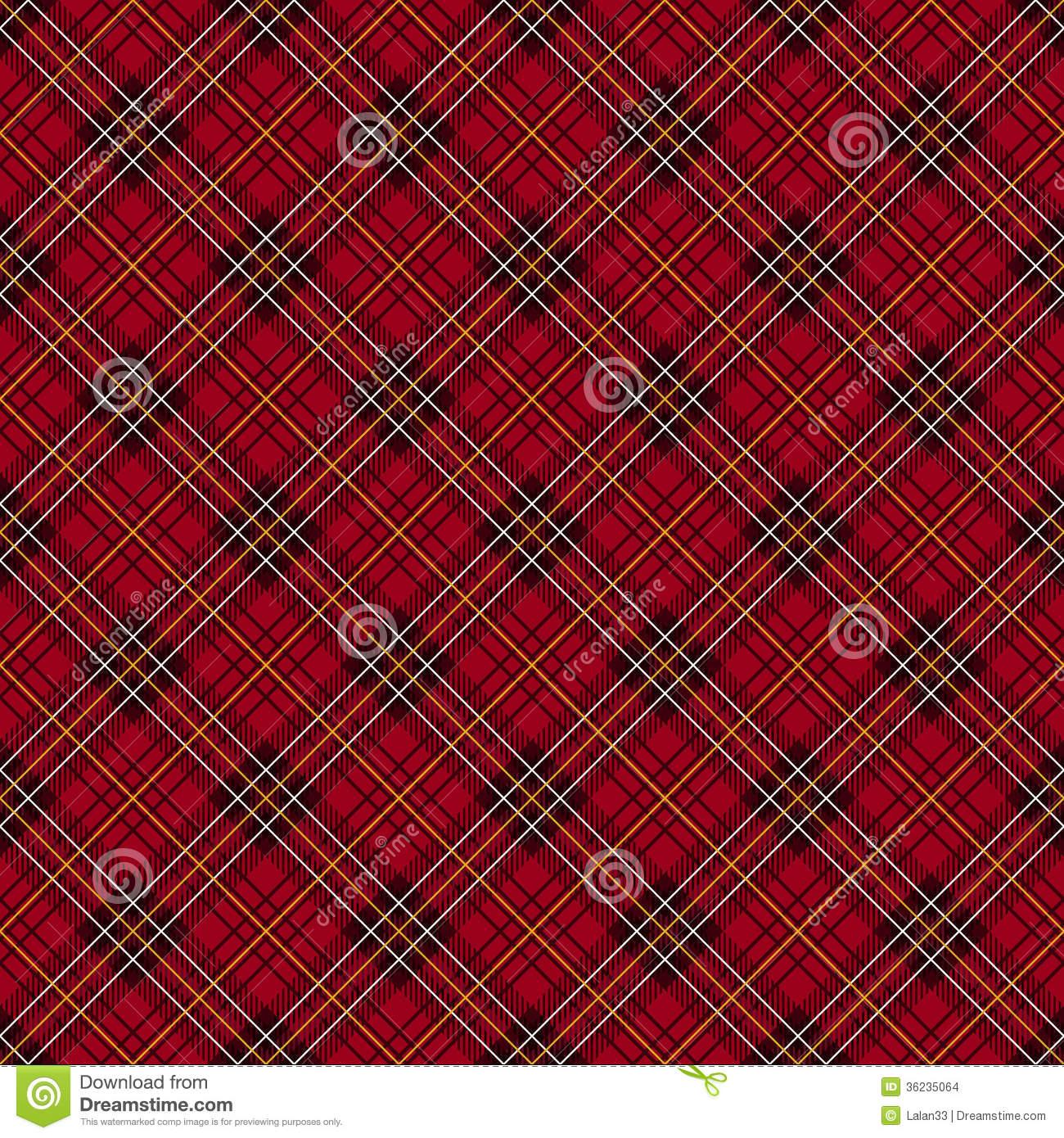 Red plaid wallpaper wallpapersafari for Red check wallpaper