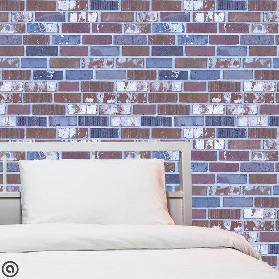 Removable Wallpaper Brick Cold Loft   Peel Stick Self Adhesive 570x570