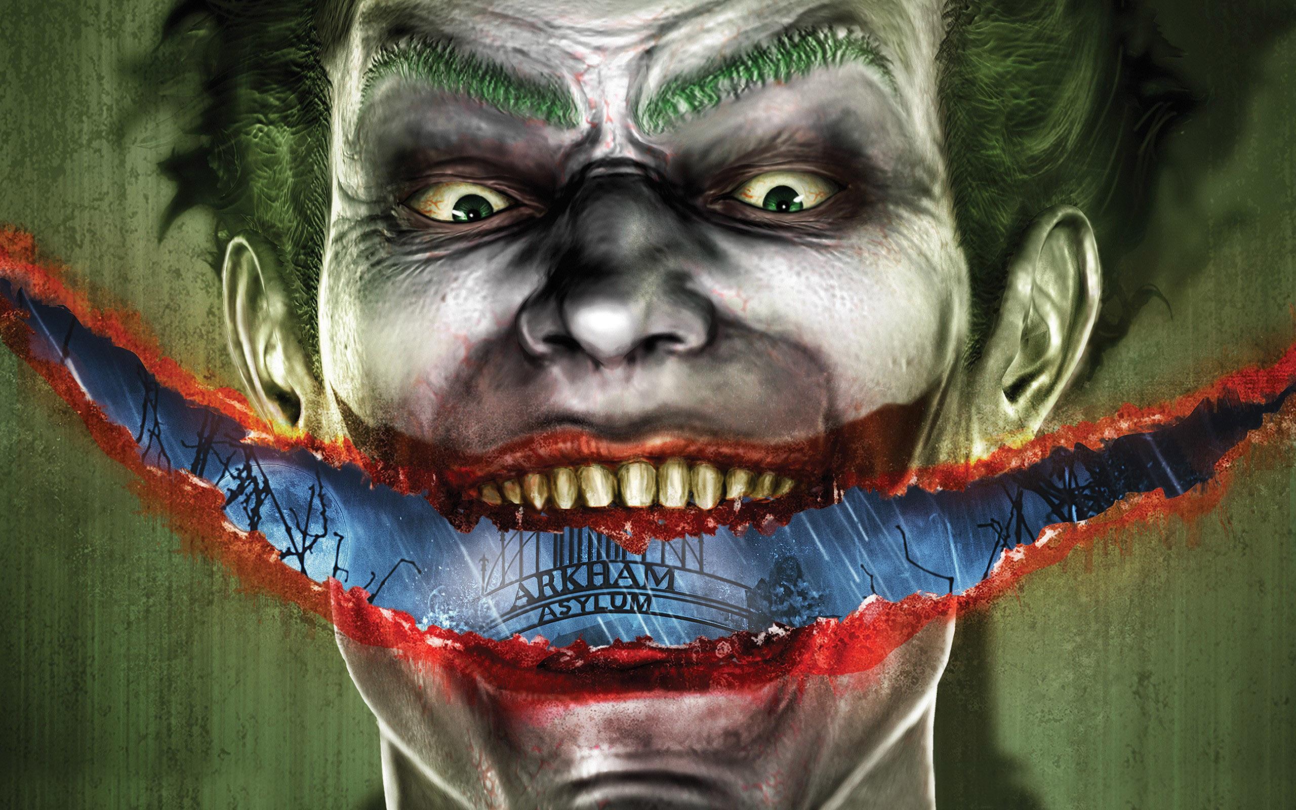 Joker Batman Arkham Asylum wallpapers HD   425676 2560x1600