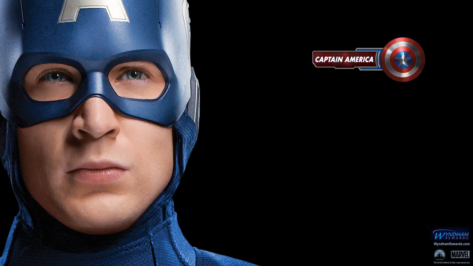 Captain America   The Avengers Wallpaper 30730395 1920x1080