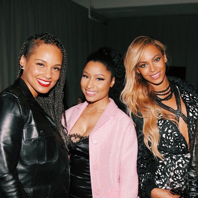 Nicki Minaj, Beyoncé, Alicia Keys Posed For A Picture