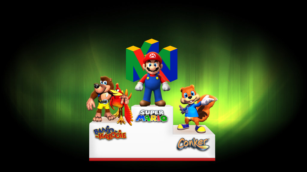 Free download Nintendo 64 Games Wallpaper Nintendo 64 legends by