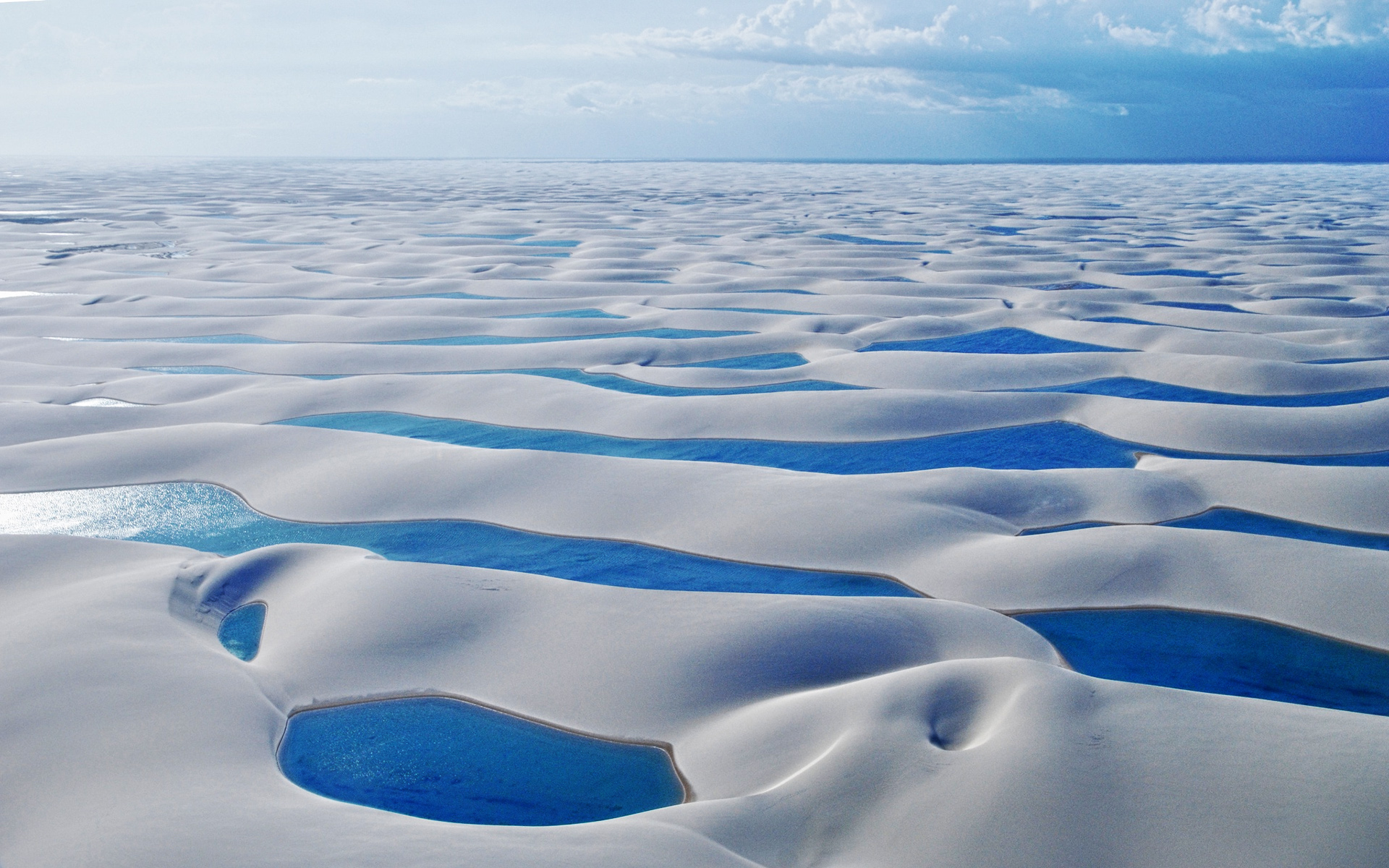 Lencois Maranhenses National Park Lagoons wallpapers 1920x1200