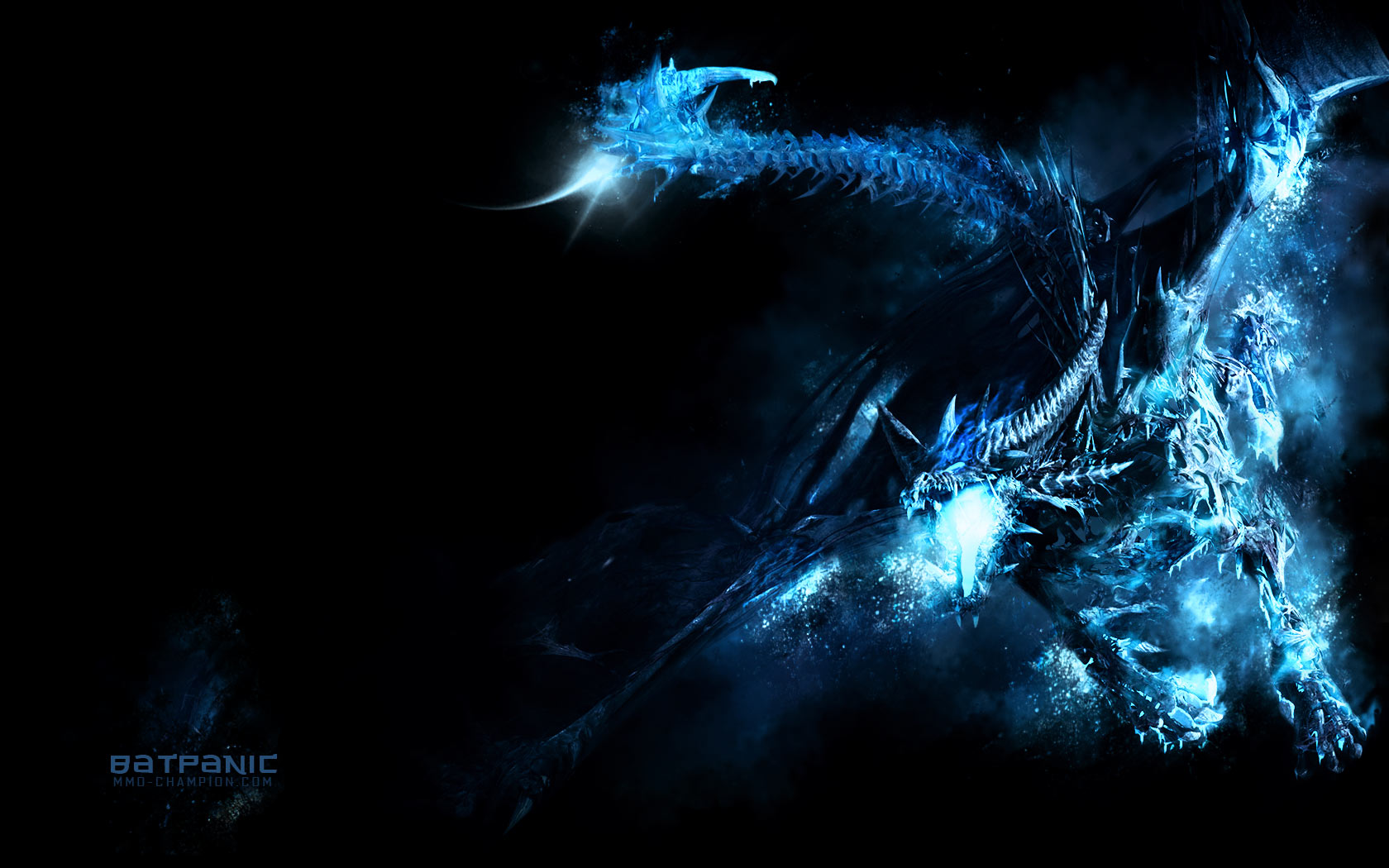 Games Wallpapers   Warcraft 3   Frost Wyrm wallpaper 1680x1050