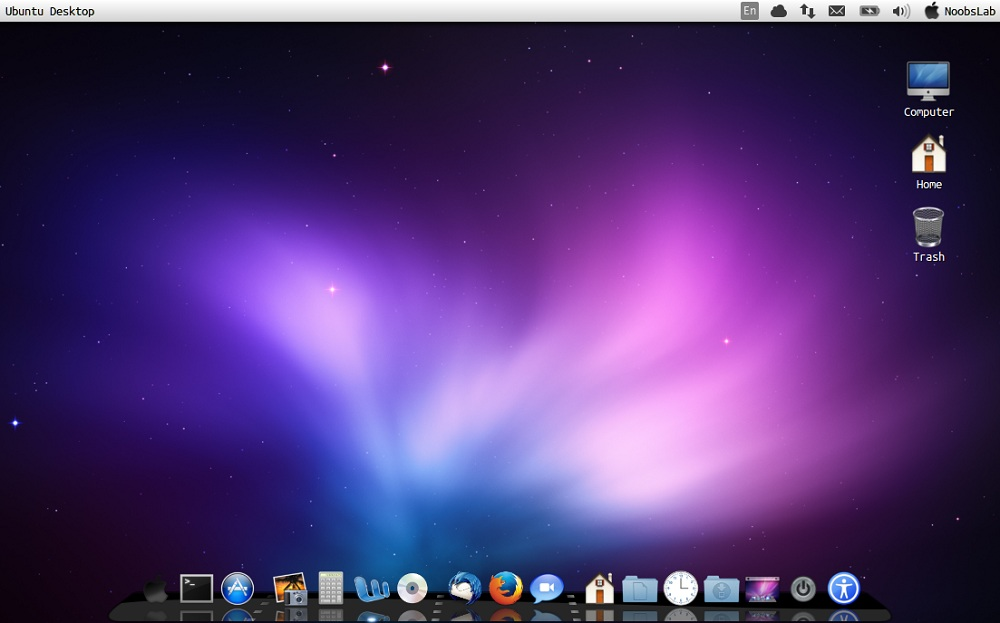 Mac Theme For Ubuntu 1204 Precise PangolinLinux Mint 13 1000x623