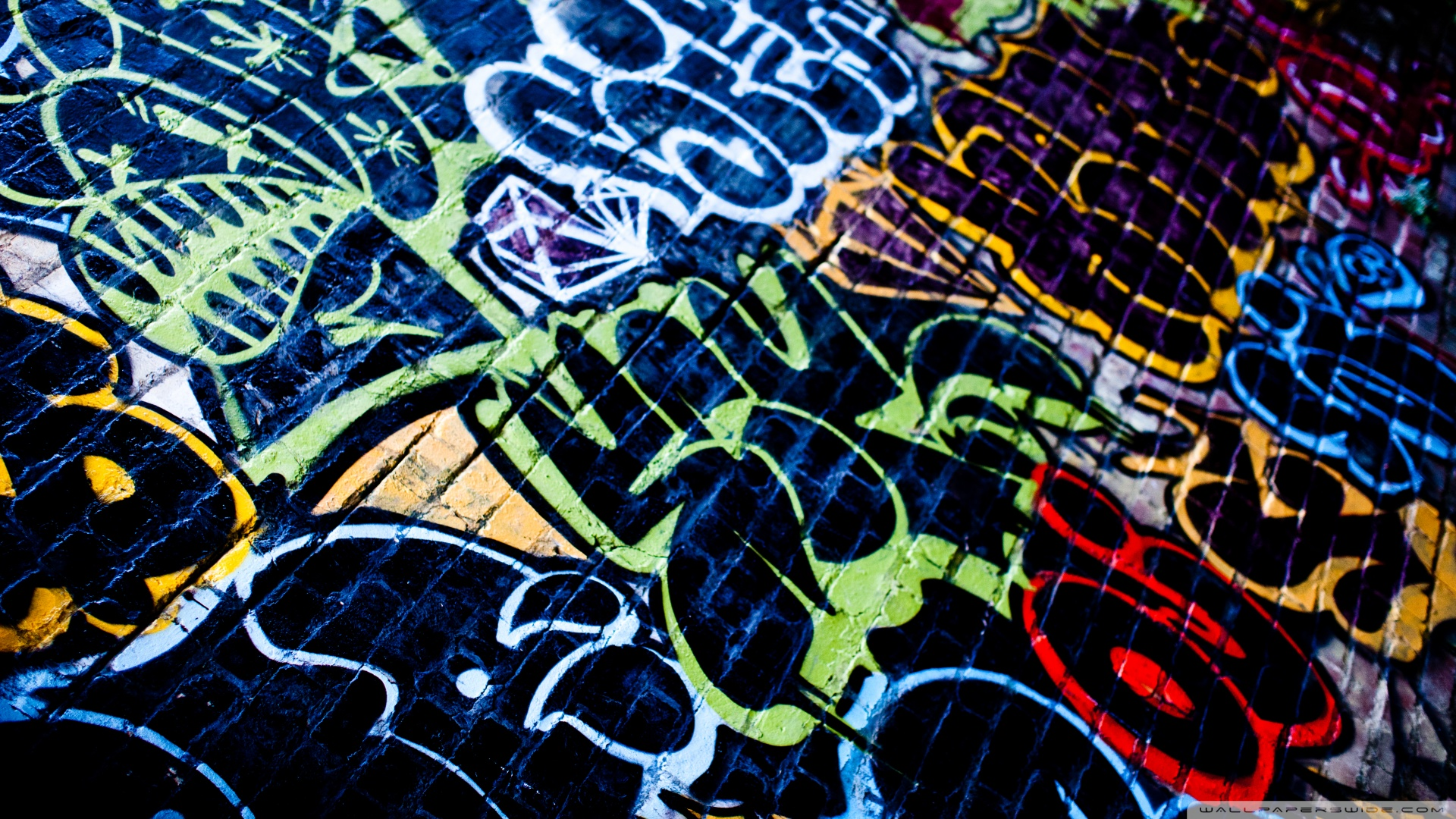 HD Graffiti Desktop Wallpapers  WallpaperSafari