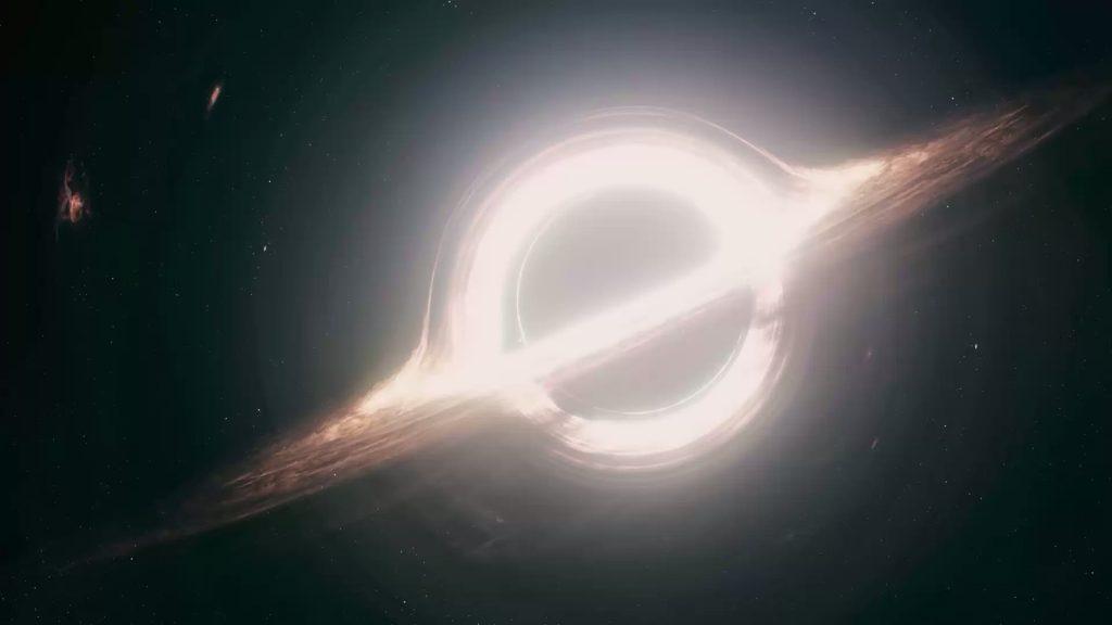 The Gargantua black hole from Interstellar Credit Double Negative 1920x1080