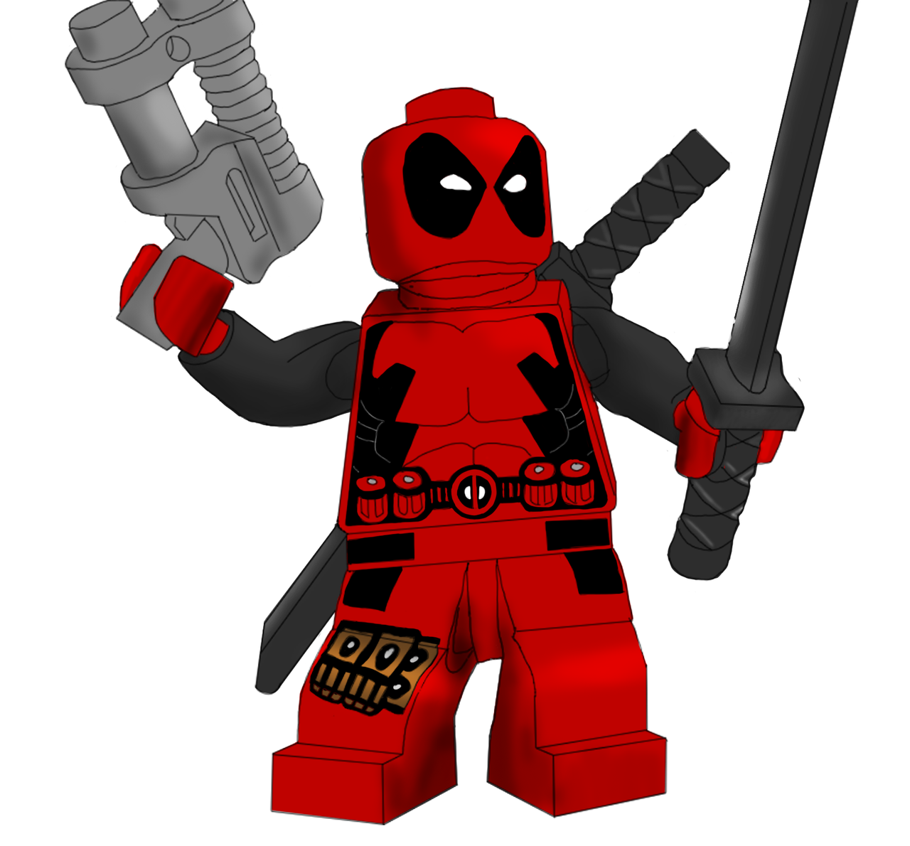 deadpool at JesterGoblin |Lego Marvel Superheroes Deadpool Set