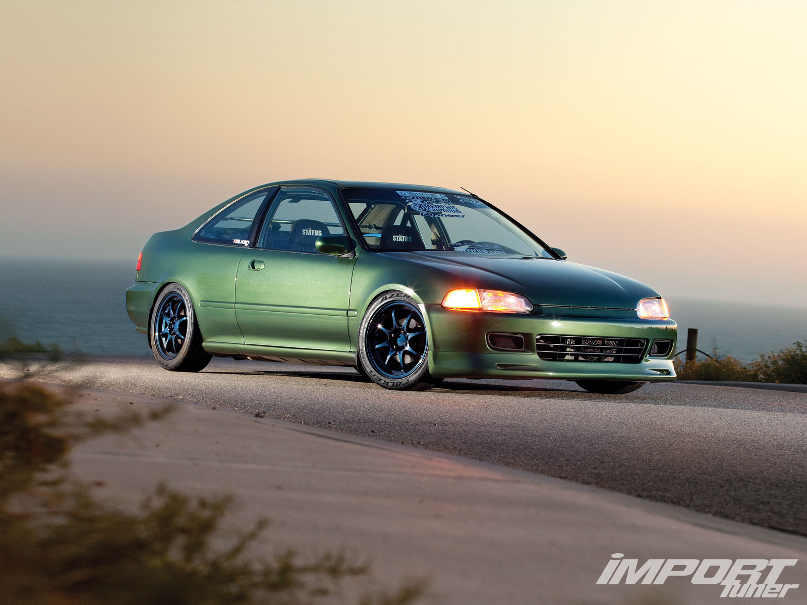 1995 Honda Civic EX   Import Tuner Magazine 1600x1200