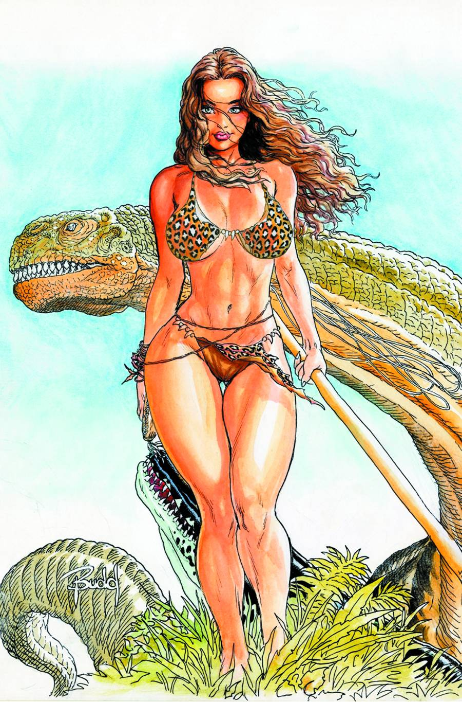Dinosaurs in Sci fi and fantasy art part IV parlor of horror 900x1365