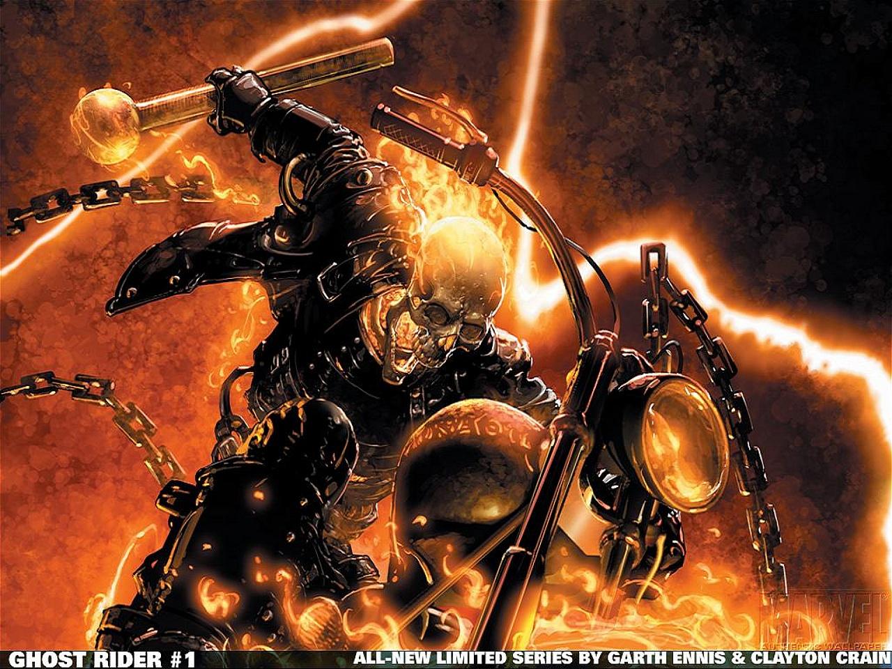 [48+] Ghost Rider 2 Wallpapers on WallpaperSafari