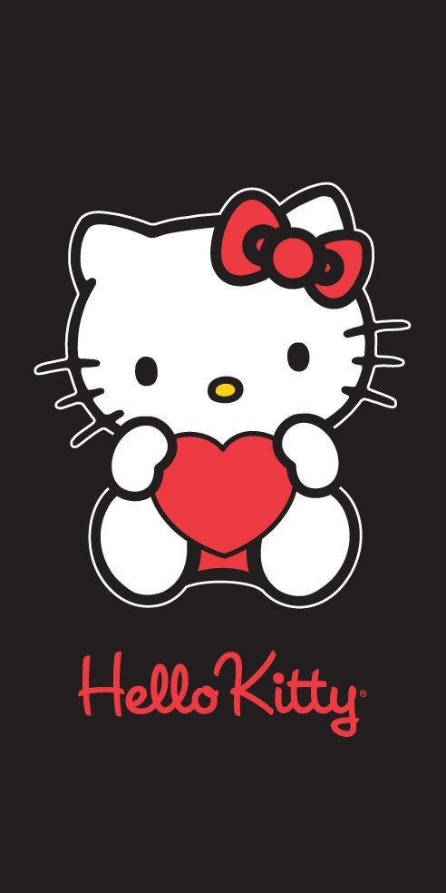 Free Download Black Hello Kitty Iphone 492x984 For Your
