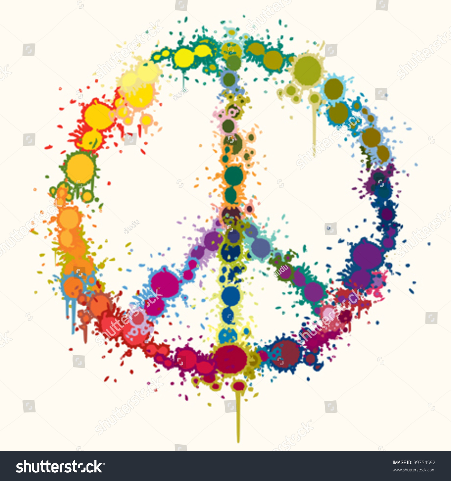 colorful peace sign backgrounds wallpapersafari