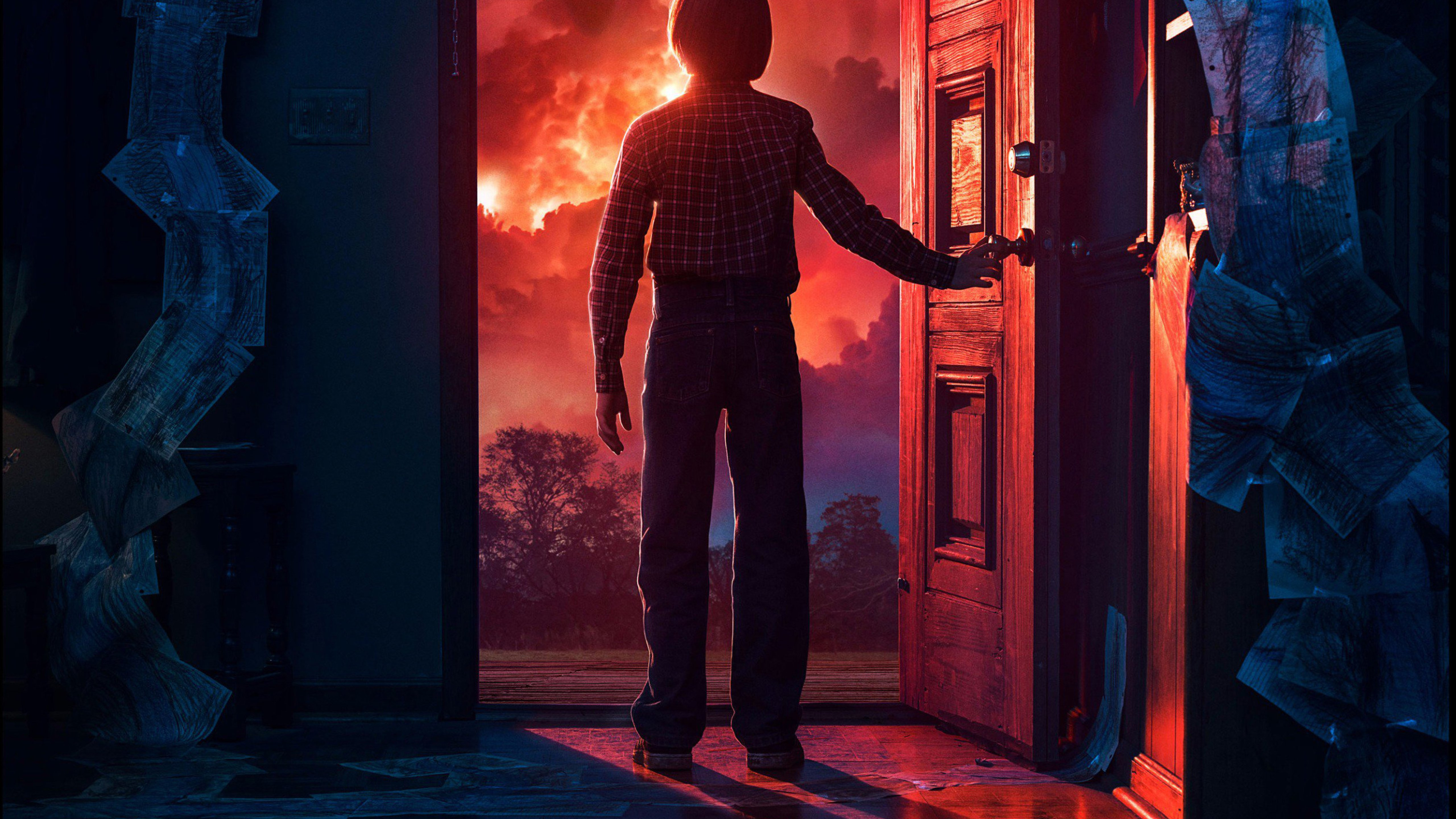 Stranger Things Season 2 2017 Full HD 2K Wallpaper 5120x2880