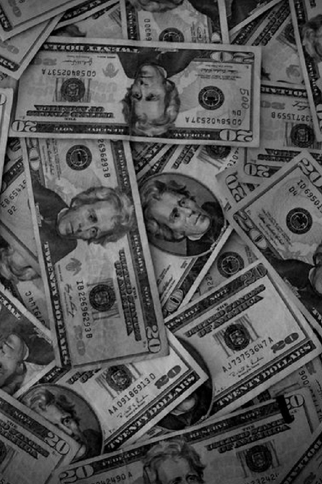 money wallpaper iphone 4   wwwhigh definition wallpapercom iPhone 640x960