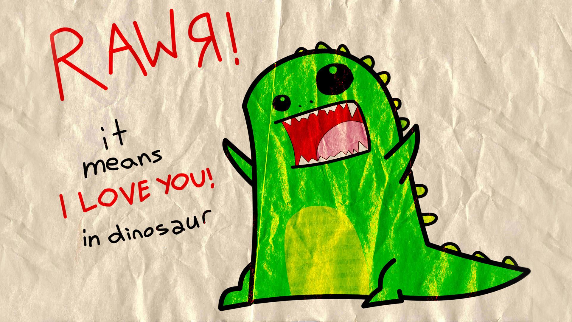 Dinosaur Wallpaper 2 Rawr Means I Love You In Dinosaur 1920x1080