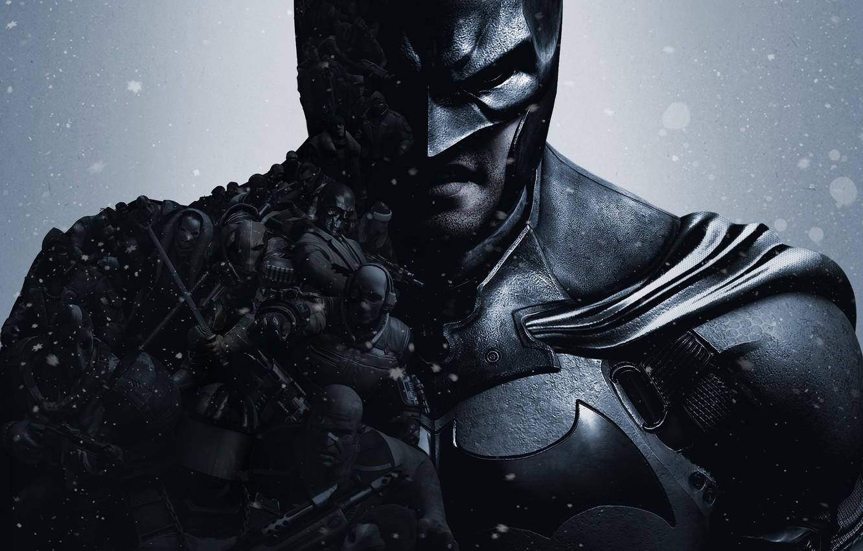 Wallpaper snow armor cloak enemies Penguin Bruce Wayne Bruce 1332x850