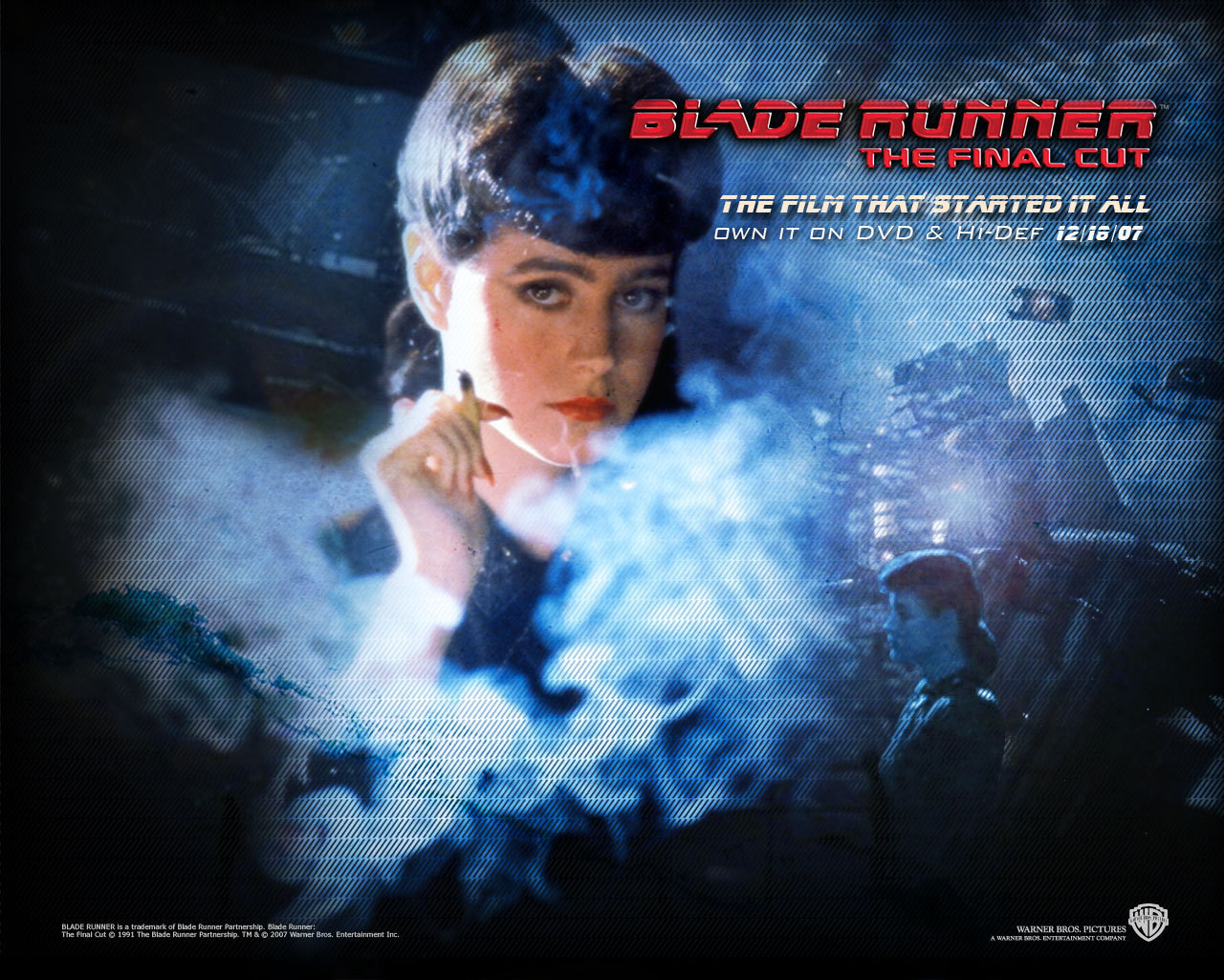 Official Blade Runner Wallpaper   Blade Runner Wallpaper 8207474 1280x1024
