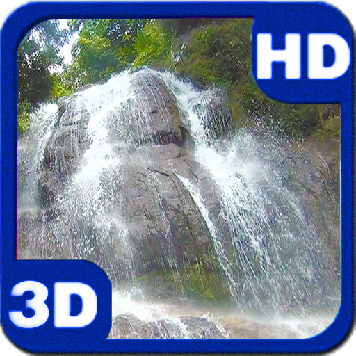 3D Lost Waterfall for Android   download and software 512x512
