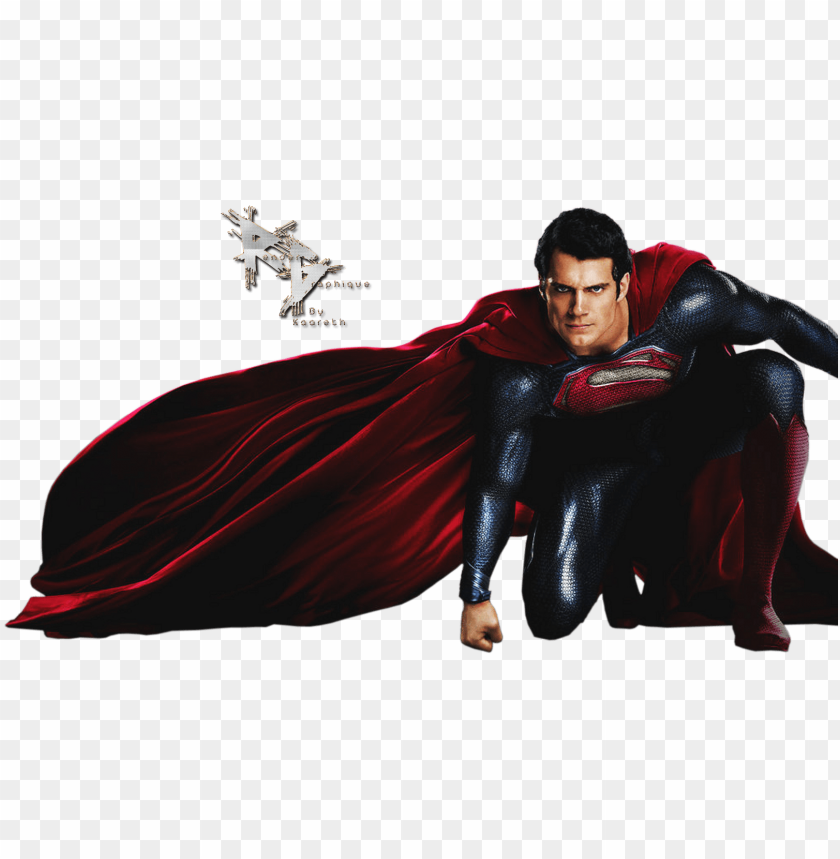 render superman man of steel cape rouge bleu   superman png 840x859